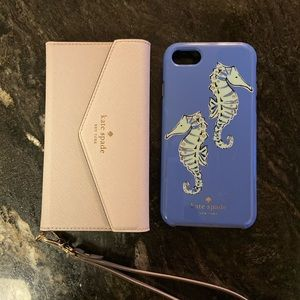 iPhone 6 phone case and wristlet